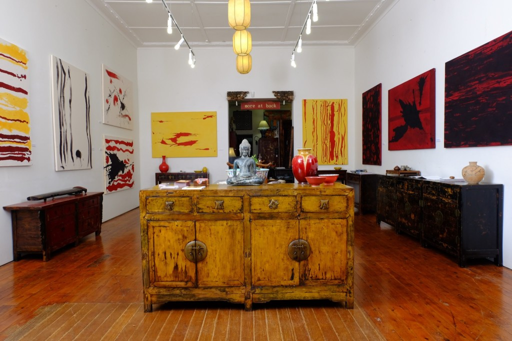 The Silk Road Gallery - HOU LEONG PAINTINGS - Curated by Peter Haynes